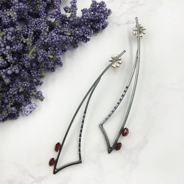 Tammy B Jewelry - Scimitar Earrings