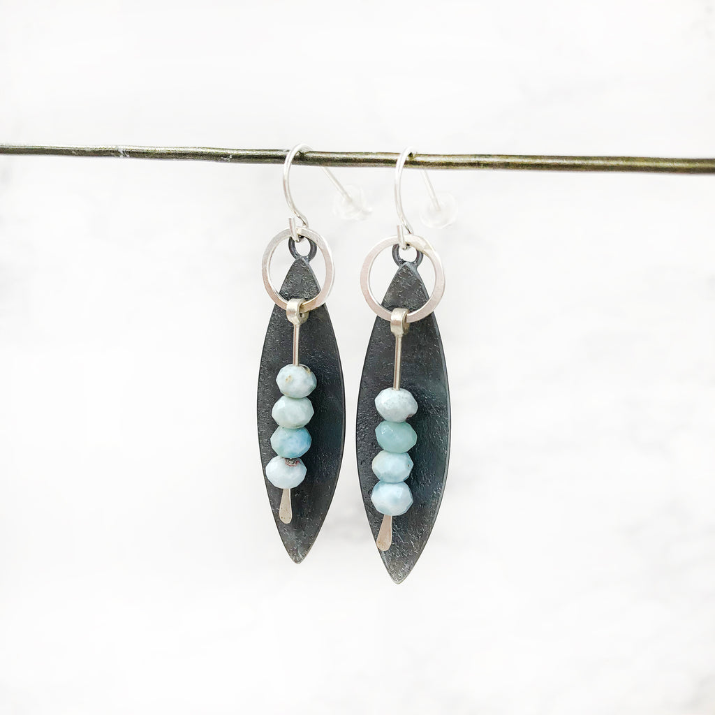 Tammy B Jewelry - Peru Paddle Earrings