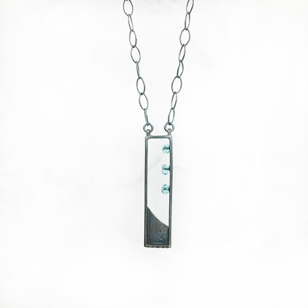 Tammy B Jewelry - Mini Rectangle Necklace