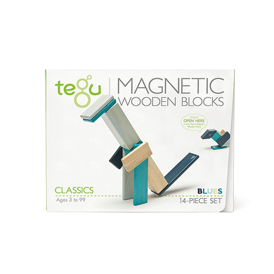 Tegu 14 Piece Set- Blues