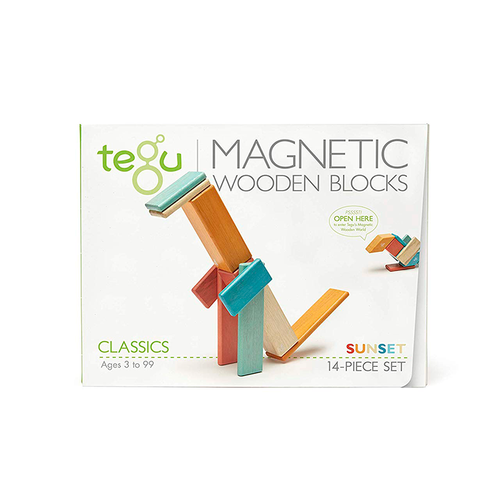 Tegu 14 Piece Set- Sunset