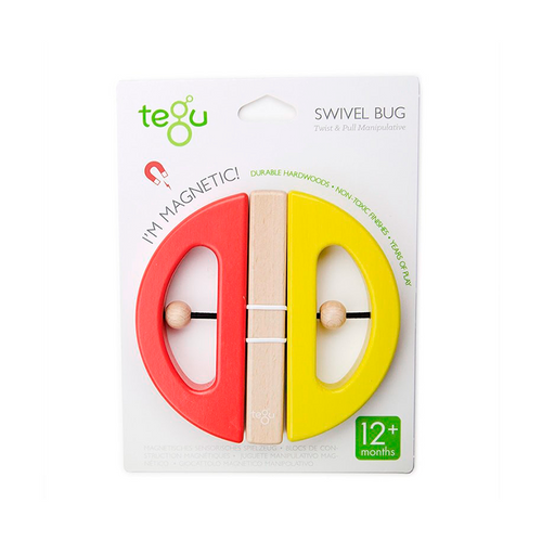 Tegu Swivel Bug- Yellow & Poppy