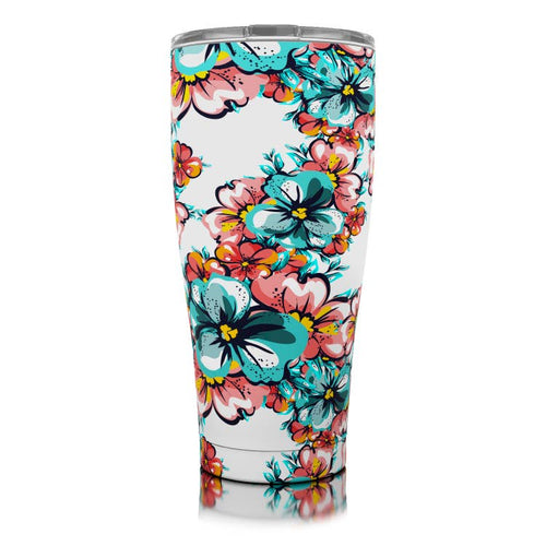 30 oz Hawaiian Hibiscus SIC Stainless Steel Tumbler