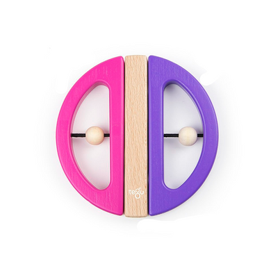 Tegu Swivel Bug- Pink & Purple