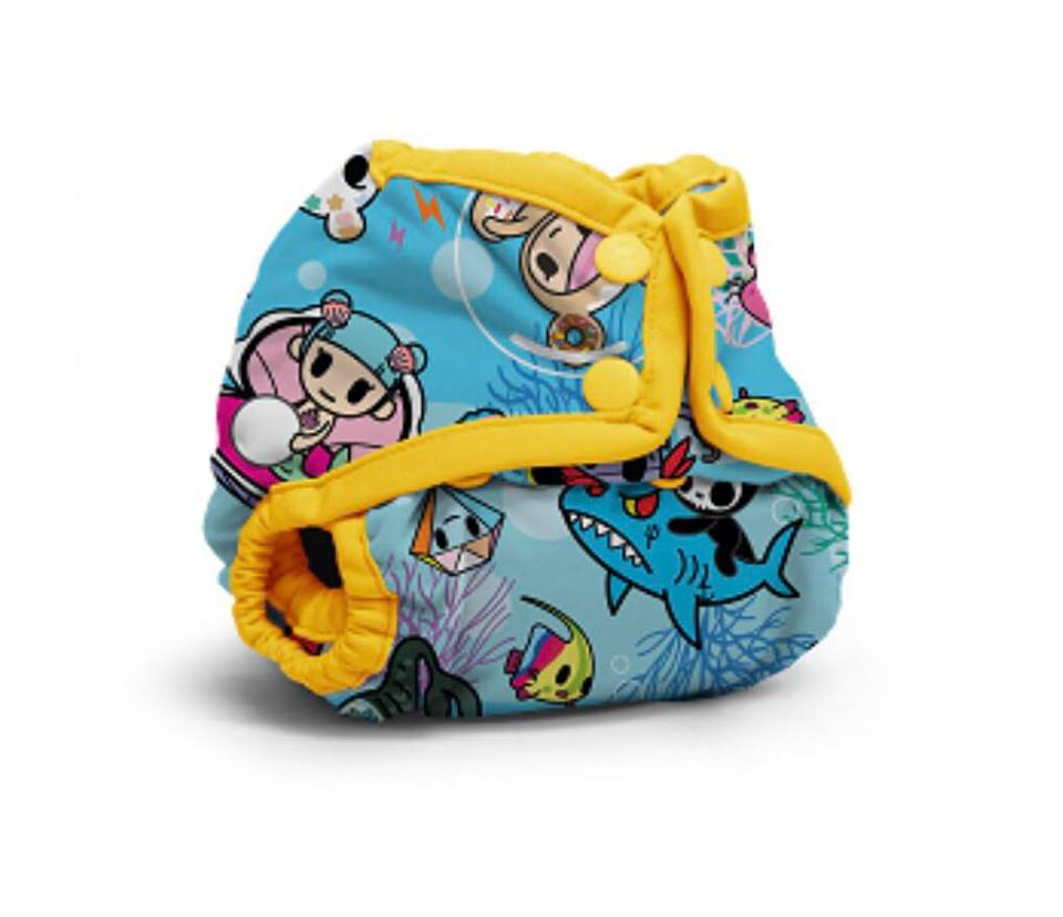 tokidoki x Kanga Care Rumparooz Newborn Cloth Diaper Cover - tokiSea