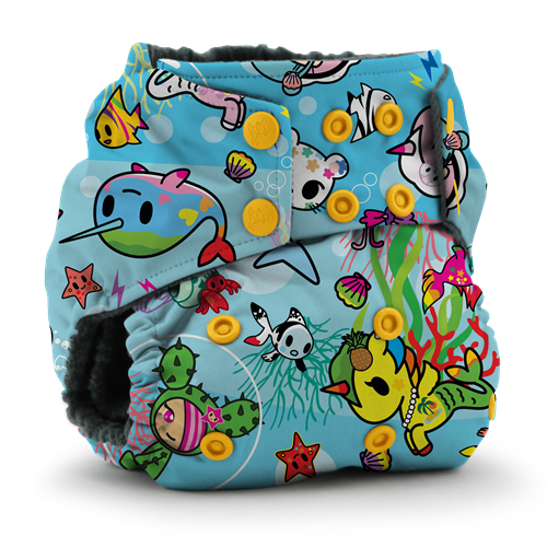 tokidoki x Kanga Care :: Rumparooz OBV One Size Cloth Diaper - tokiSea