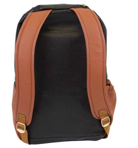 Itzy Ritzy Coffee and Cream Boss Diaper Bag Backpack