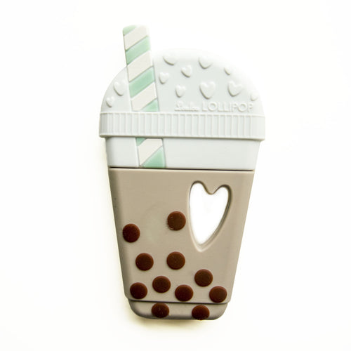 LouLou Lollipop Milk Tea Bubble Tea Silicone Teether