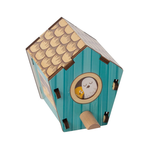 Fat Brain Toys- Build It Blueprints Puzzle Birdhouse