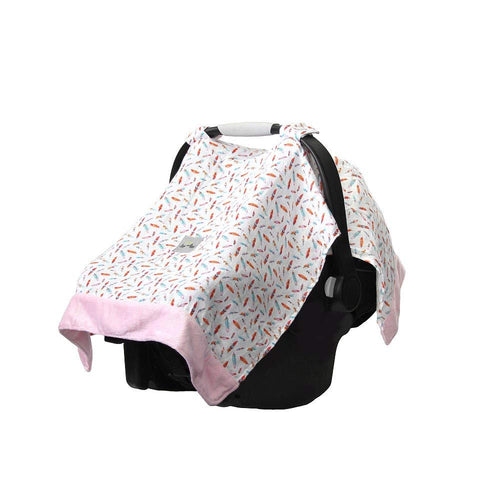 Itzy Ritzy Cozy Happens Muslin Car Seat Canopy- Multiple Options Available
