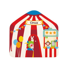 Hape- Big Top Circus Magnetic Book