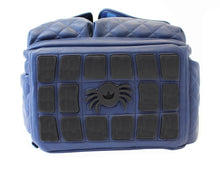 Itzy Ritzy Gingham Navy Boss Diaper Bag Backpack