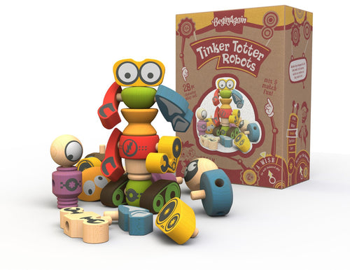 Tinker Totter Robot Character Set
