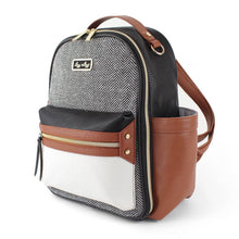 PREORDER Itzy Ritzy Mini Backpack- Coffee and Cream