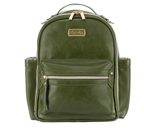 Itzy Ritzy Mini Backpack- Olive Crew