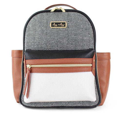 Itzy Ritzy Mini Backpack- Coffee and Cream
