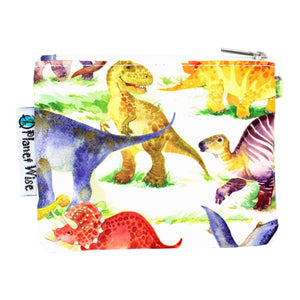 Planet Wise Coin Purse- Dinomite