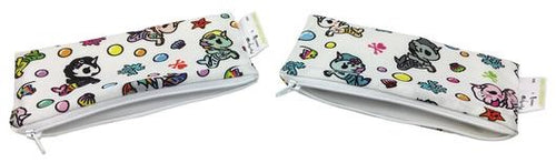 Itzy Ritzy x Tokidoki Mini Snack Bag, 2-Pack- Mermicorno All Stars