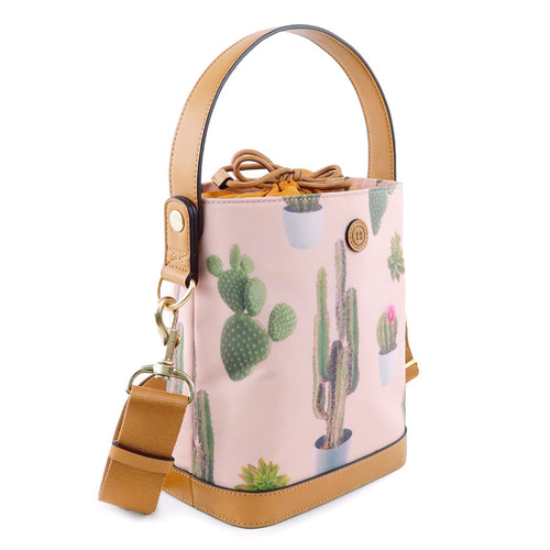 Twelvelittle On The Go Bottle Bag- Cactus Print
