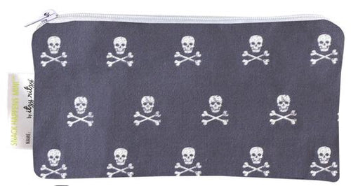 Itzy Ritzy Mini Snack Bag, 2-Pack - Rebel Skulls
