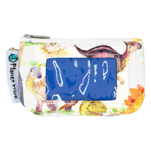 Planet Wise Zip ID Holder- Multiple Colors Available