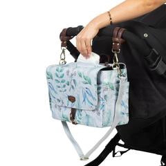 Twelvelittle On-The-Go Stroller Caddy- Leaf Print