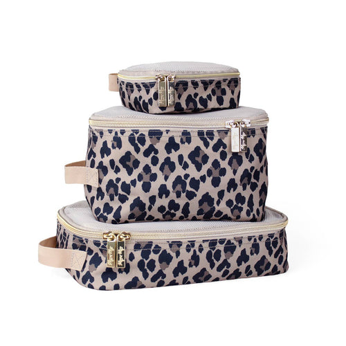 Preorder Itzy Ritzy Packing Cubes- Leopard