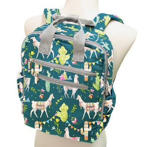 Perfect Backpack-Llama Party