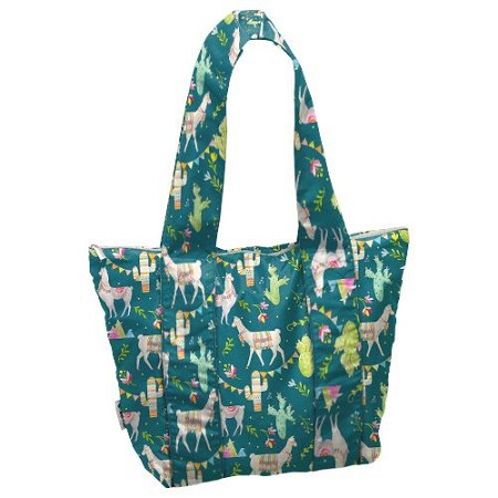 Planet Wise All Day Tote- Llama Party