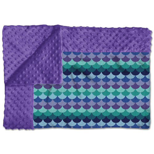 So Cozy Blanket- Mermaid Tail