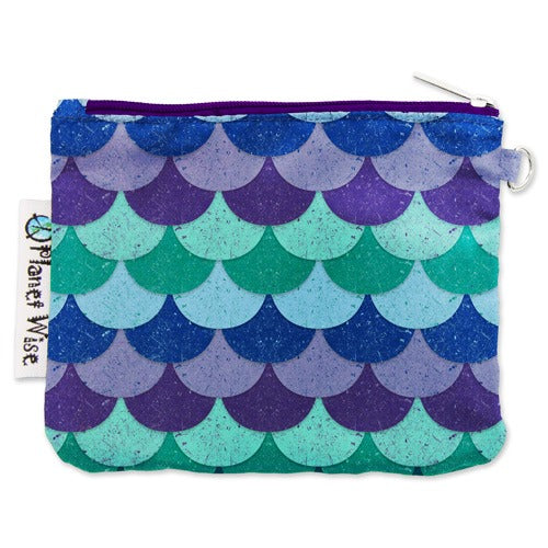 Planet Wise Coin Purse- Mermaid Tail