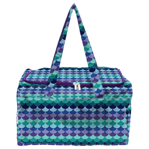 Planet Wise Overnight Bag- Mermaid Tail