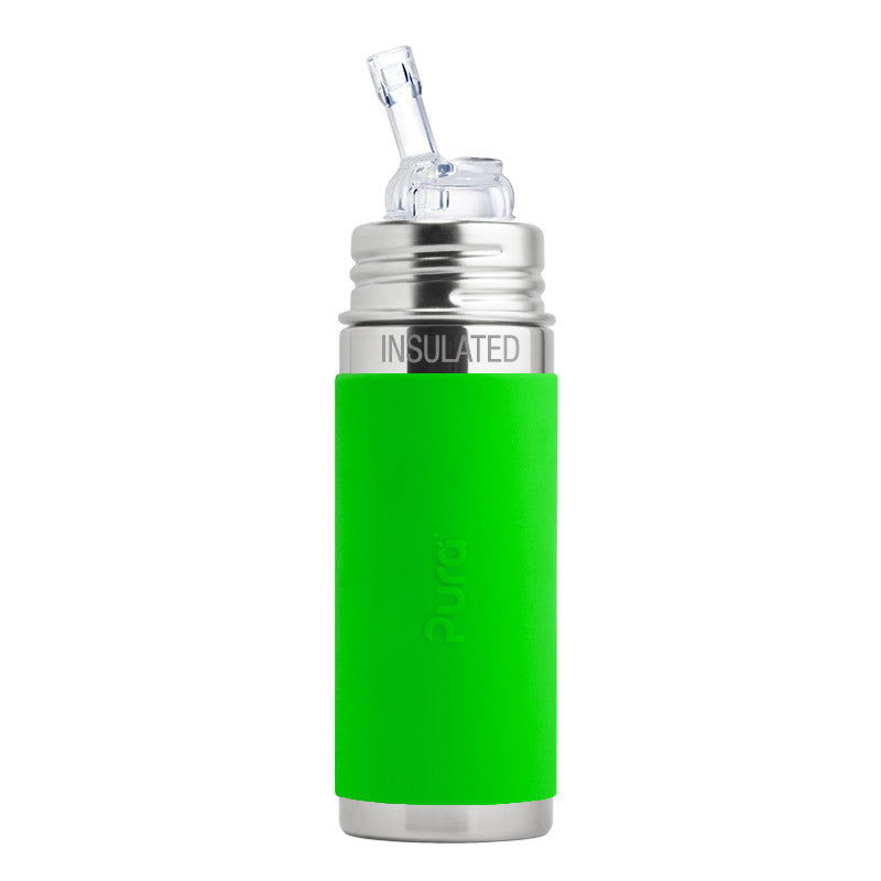 Pura Stainless- 9 oz Insulated Straw Cup- Multiple Colors Available