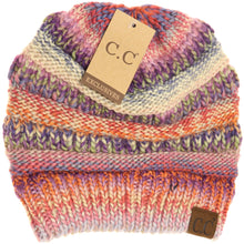 CC Beanie Multi Color Cable Knit Beanie- Multiple Colors Available