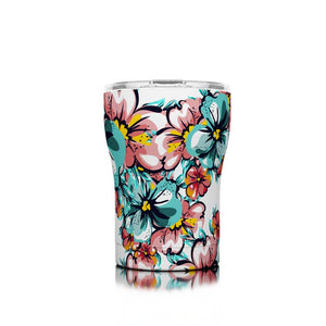 12 oz Hawaiian Hibiscus SIC Stainless Steel Tumbler