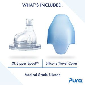 Pura Stainless- 9 oz Insulated Sippy Cup- Multiple Colors Available