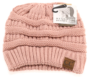 CC Beanie Classic Ponytail- Multiple Colors Available