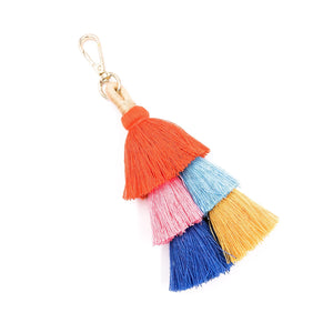 Handbag Tassel/Keychain- Multiple Colors Available