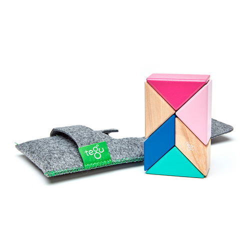 Tegu Prism Pocket- Pink