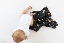LouLou Lollipop Planets Muslin Swaddle