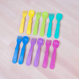 Re-Play Toddler Utensil Pair - Multiple Color Options