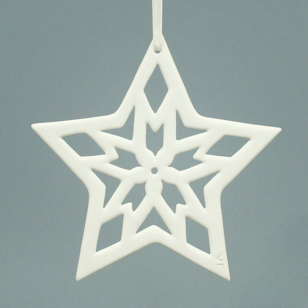 Five Pointed Star Ornament
