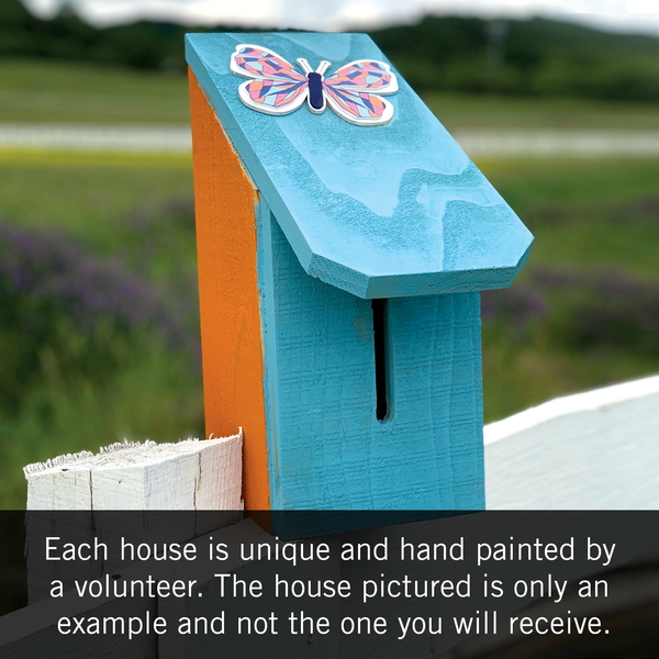 Butterfly House - Assembled and Painted