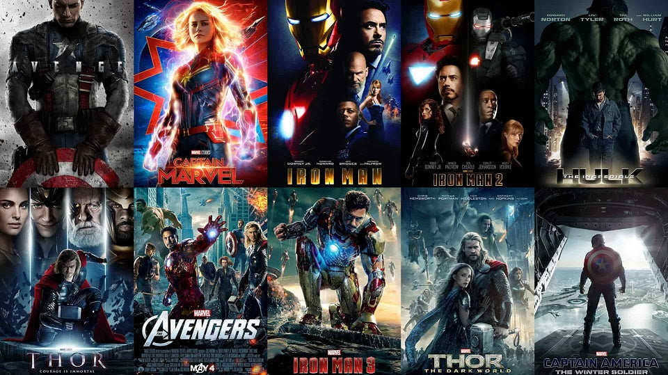 TOP 5 MARVEL MOVIES