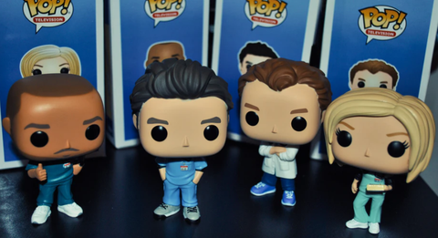 Funko Pops for the popular medical television drama, The Resident