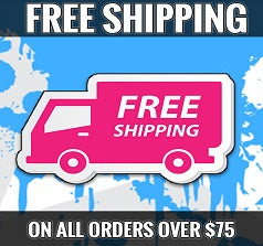 FREE SHIPPING ON ALL ORDERS OVER 75$
