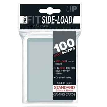 (100) ULTRA-PRO SOFT SLEEVES SIDE LOAD