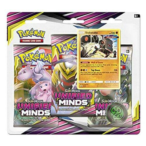1 X UNIFIED MINDS 3 PACKS BLISTER (STAKATAKA)