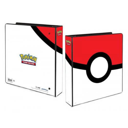 POKEMON POKEBALL BINDER 2'' + 5 Free Platinum Pages