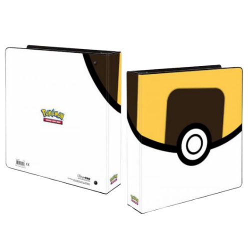 POKEMON ULTRA-BALL BINDER 2'' + 5 Free Platinum Pages